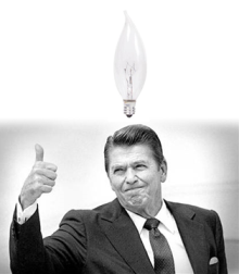 reagan light bulb